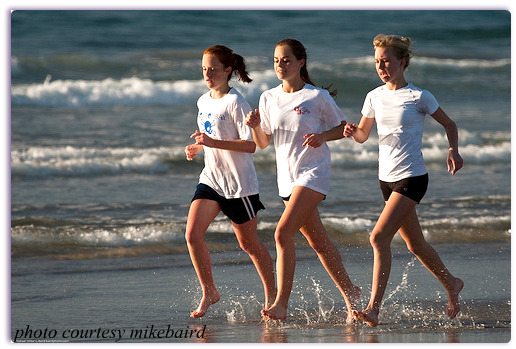 good running habits start young