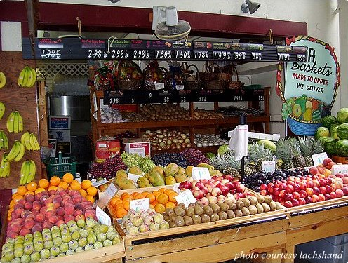 Some of the healthiest foods come from the farmers market