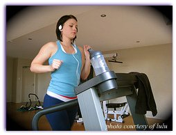 running on a treadmill, a great place to start running